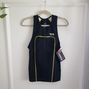 TYR CARBON TRIATHLTANK W/ZIPPER